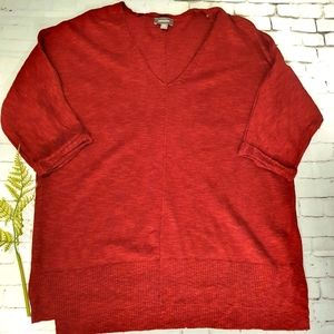 SUSSAN Knit Top XS Linen/Cotton As New